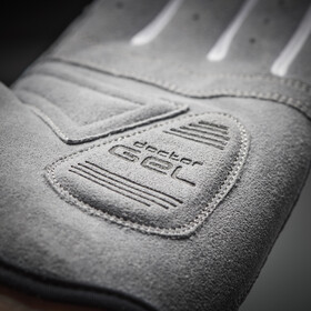 GripGrab Shark Padded Full Finger Gloves Dame grey